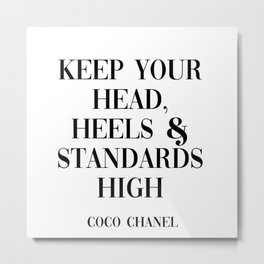 coco quote Metal Print