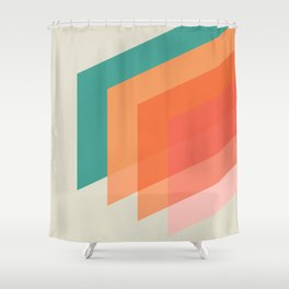 Horizons 04 Shower Curtain