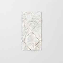 Copper & Marble 01 Hand & Bath Towel
