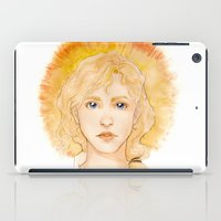 enjolras iPad Cases featuring Eyes of a leader by Elnawen