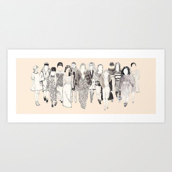 Fall 2012 Art Print