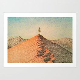 Sandy Namibia Art Print
