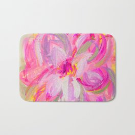 floral art Bath Mat