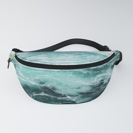 Water Photography | Sea | Ocean | Pattern | Abstract | Digital | Turquoise Fanny Pack