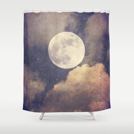 To the Moon and Back  Shower Curtain