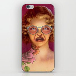 MY SMILE IS JUST A FROWN TURNED UPSIDE DOWN iPhone Skin