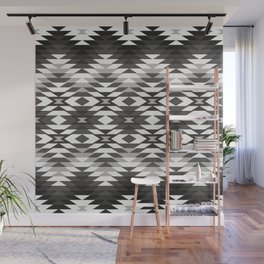 New Mexico in Black and White Wall Mural