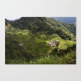 Rice Terraces of Banaue, Philippines Canvas Print
