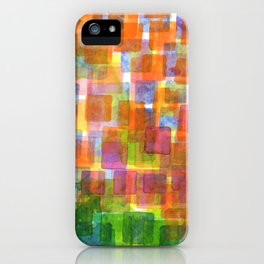 Magnified Detail of a Blossom iPhone Case