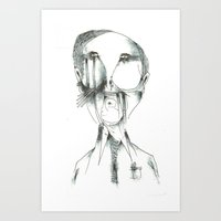 fries Art Prints featuring Fries by Arkories