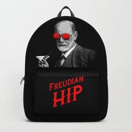 Hipster Psychologist Sigmund Freud Backpack