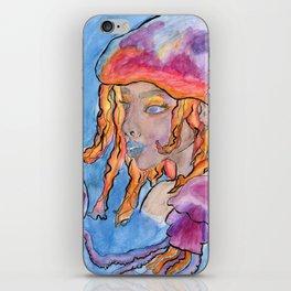 Jellyfish Mermaid  iPhone Skin