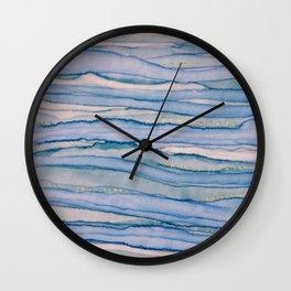 Serenity Stream Wall Clock