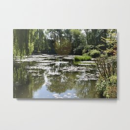 Monet's Waterlilies Metal Print
