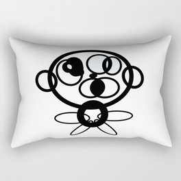 Reasoning Robo Rectangular Pillow