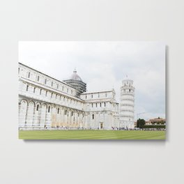 Leaning Tower of Pisa, Italy Metal Print