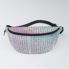Sunset on the ocean Fanny Pack