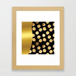 It's Raining Gold!  Framed Art Print
