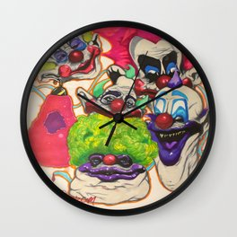 Killer Klown Gang Wall Clock