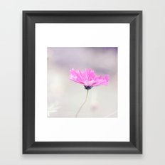 Cotton candy cosmo Framed Art Print