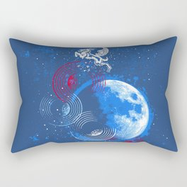 Winged Goat of the Cosmos Rectangular Pillow