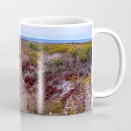 Colorful coastal flowers Coffee Mug