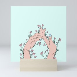 Let It Grow Mini Art Print