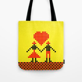032 best boy and girl friends Tote Bag