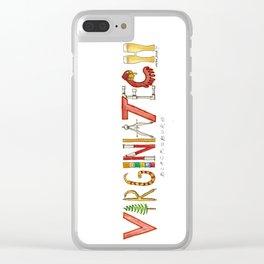 Va Tech Clear iPhone Case