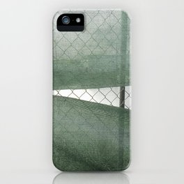 Fence Study I iPhone Case