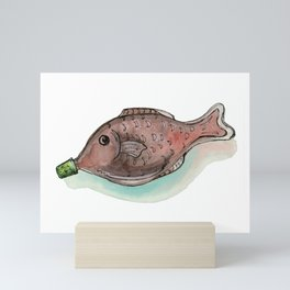 Little Soy Fish Mini Art Print