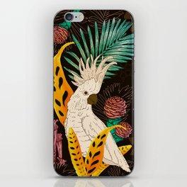 Tropical Cockatoos iPhone Skin