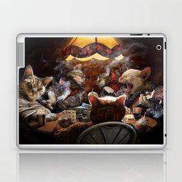 Cats play poker Laptop & iPad Skin