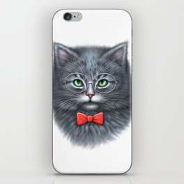 Meooowwwww......( i'm the coolest cat in the world.....hahaha..... ) iPhone Skin
