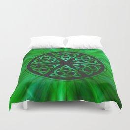 Celtic Knot Star Flower Duvet Cover