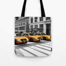 NYC - Yellow Cabs - Shops Tote Bag