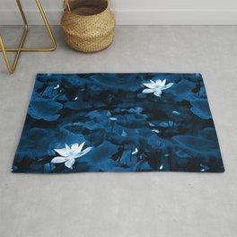 Enchanted Garden - A Lotus Pattern Rug