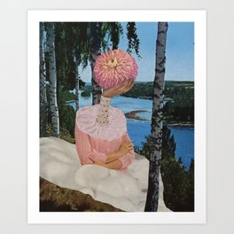lake sludge Art Print