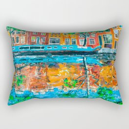 Reflections of Amsterdam Rectangular Pillow