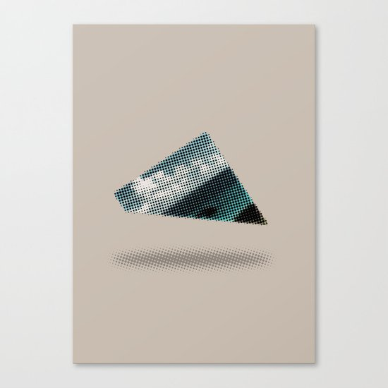 There's something wrong with the Triangle Canvas Print