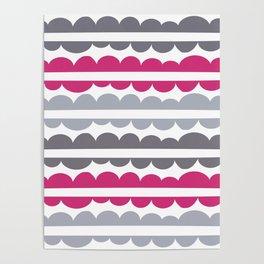 Mordidas Pink Yarrow Poster