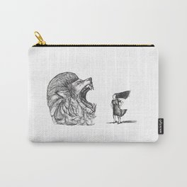 Be Louder Than Your Lions Carry-All Pouch