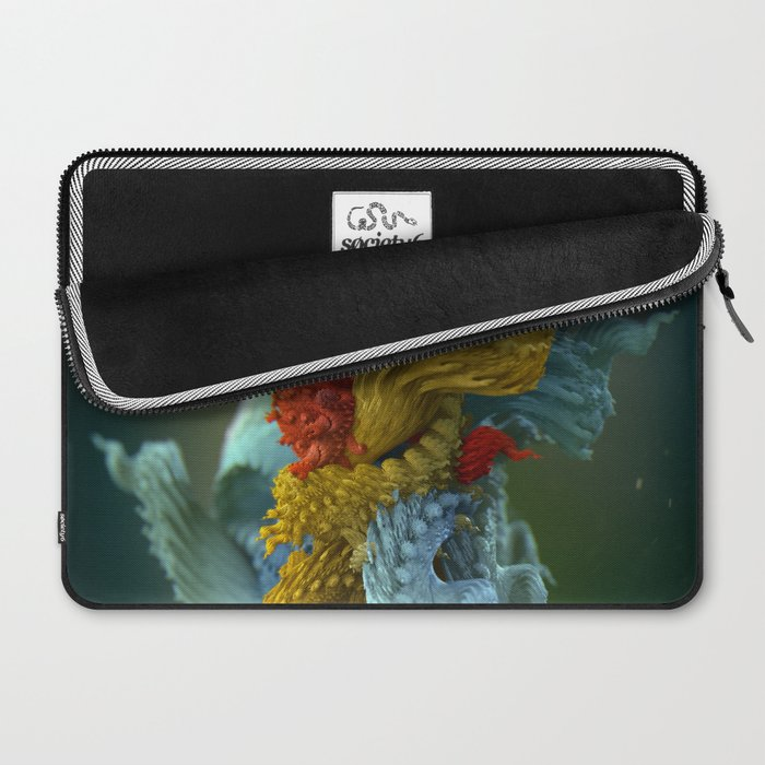 Chlorotiqua no.4 Laptop Sleeve