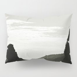 Haute-Gaspesie Coastal Road Pillow Sham