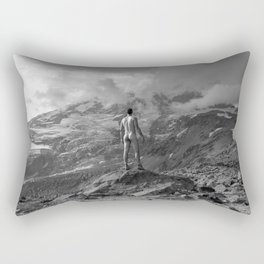 Awesome Nature Nude Hike Rectangular Pillow