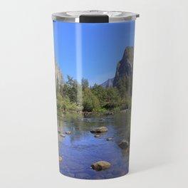 Yosemite and mirror lake Travel Mug