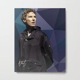 Benedict Cumberbatch - Hamlet Barbican Metal Print