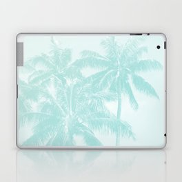 Palm Trees Cyan Kihei Maui Hawaii Laptop & iPad Skin