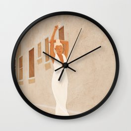 City Walls III Wall Clock