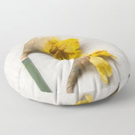 Daffodil 2 Floor Pillow